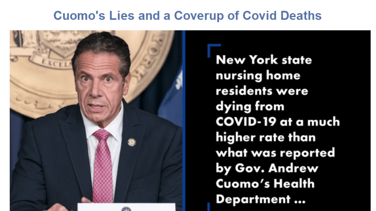 New York Governor Cuomo Should Resign or Be Impeached Over Covid Scandal