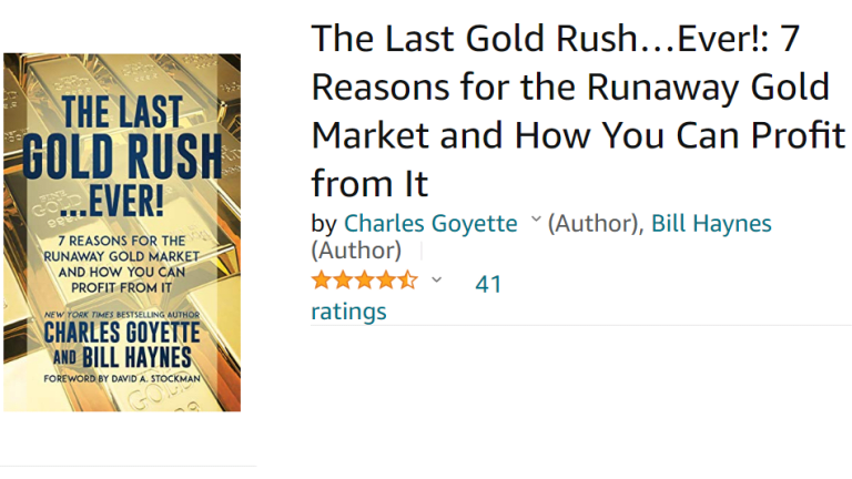 "Book Review: ""The Last Gold Rush Ever!"" Another Winner by Charles Goyette"