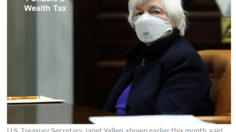Democrats Ponder a Wealth Tax to Pay for Free Money Handouts