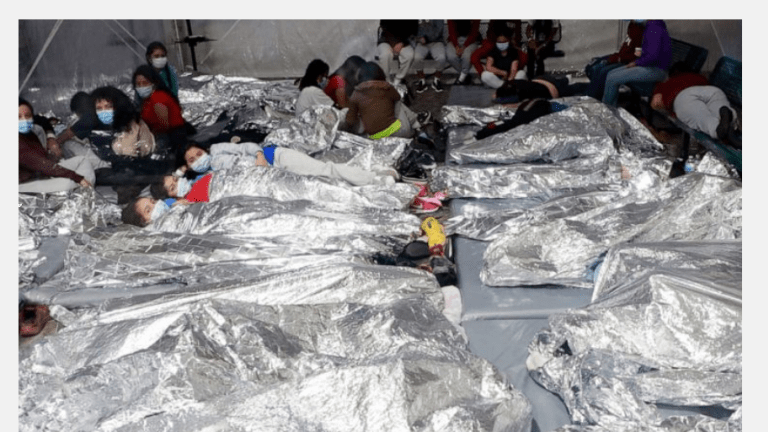 Biden Tries to Hide Migrant Center Conditions But Disturbing Images Surface