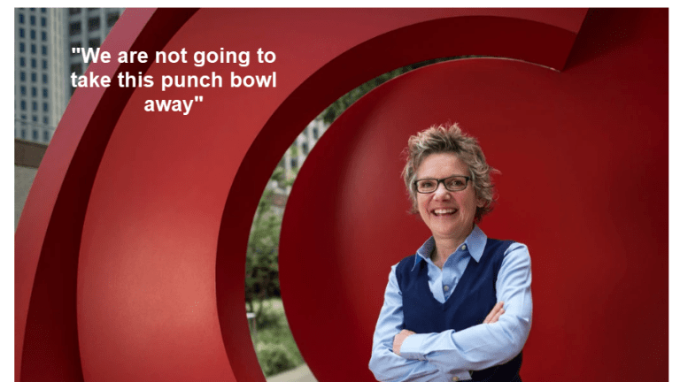 """Easy Money Quote of the Day: Fed """"Won't Take the Punch Bowl Away"""""""