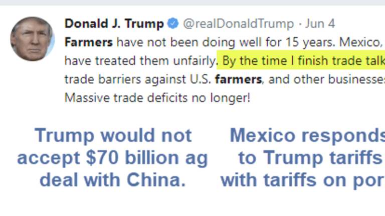Trump Claims US Farmers Treated Unfairly Then Uses Strategies That Hurt Farmers