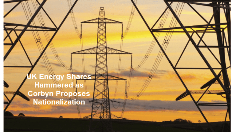 Green Revolution Nonsense: Corbyn Wants to Nationalize UK National Energy Grid