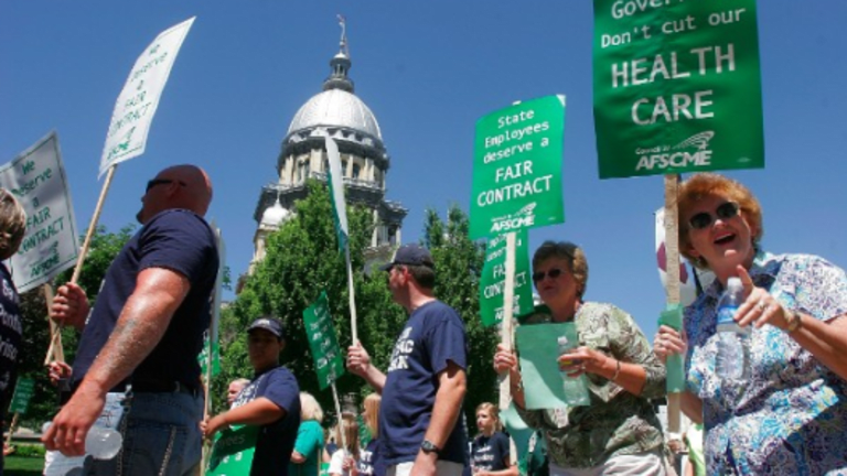 Illinois State Workers, Highest Paid in Nation, Demand 11.5 to 29% Hikes