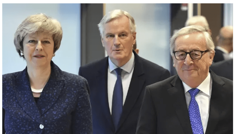 """UK Ministers Tell Theresa May to Stand Down: """"No Deal In the Desert"""""""
