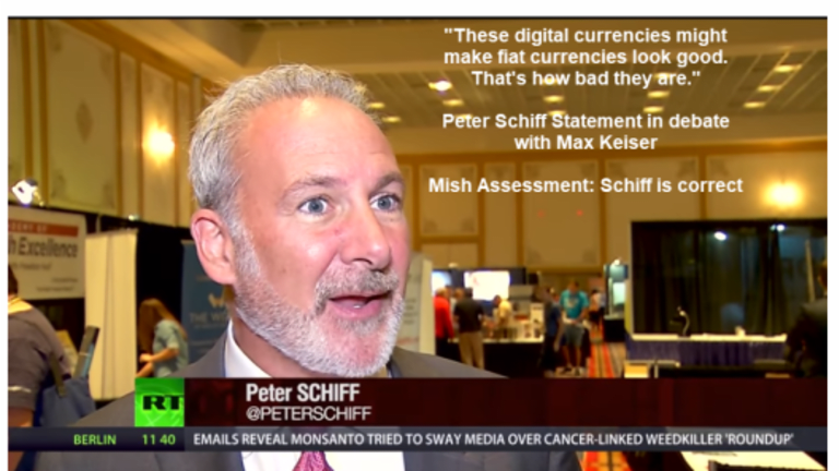 Bitcoin vs Gold: Peter Schiff vs Max Keiser – Who is Right? Bitcoins the New Beaver Pelts?