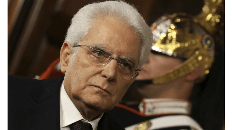 Constitutional Crisis in Italy as President Rejects Eurosceptic Minister