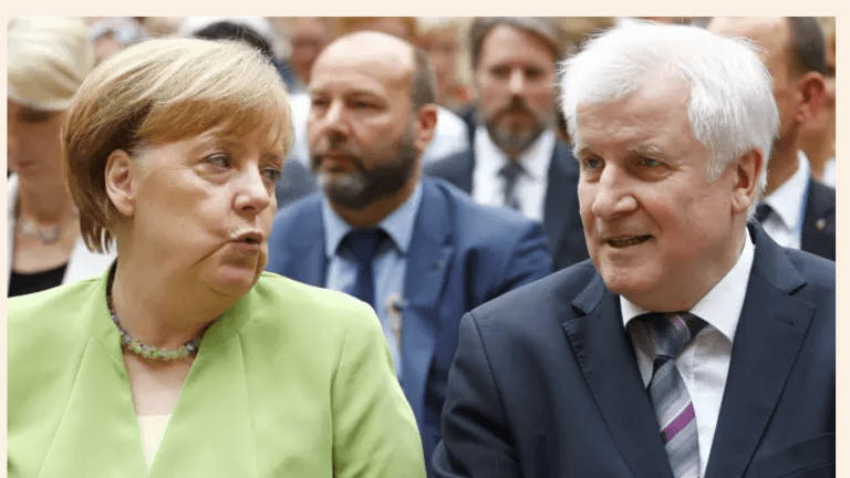 Seehoffer Attacks Merkel then Elects to Stay On