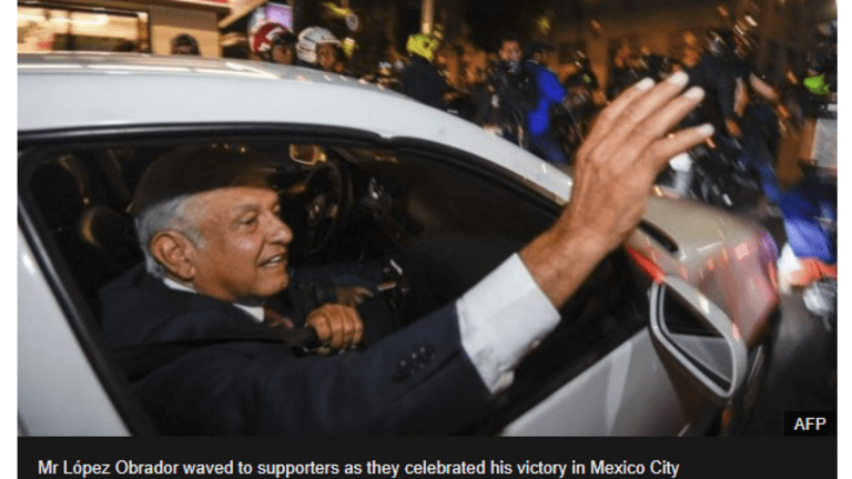 Anti-Trump Leftist Win Mexico Presidency in Landslide