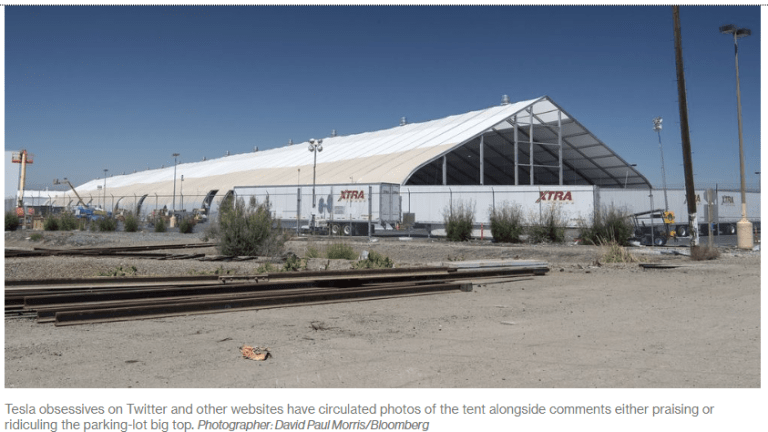"""Reflections on Tesla's Tent: """"Preposterous"""""""