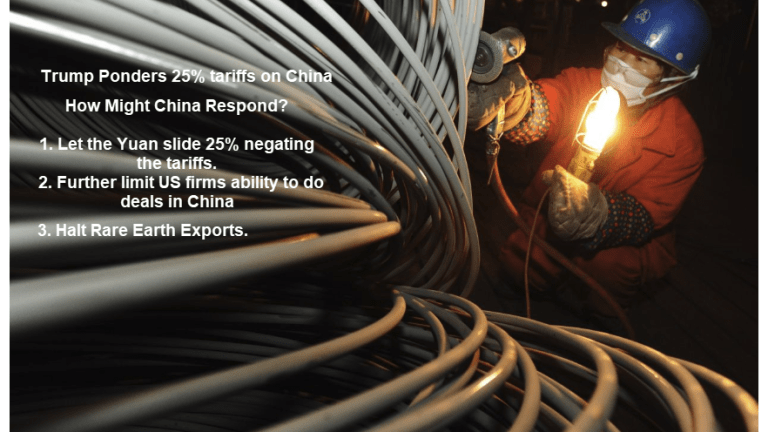 Trade Hardball: China Threatens to Cut Off US Supply of Rare Earth Elements