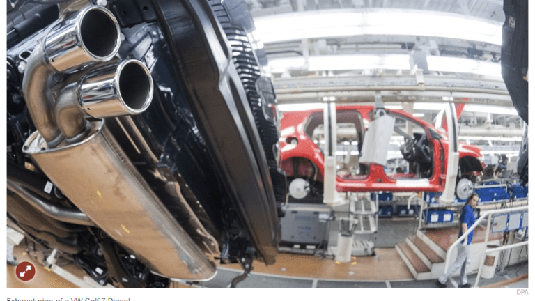 VW Conducted Illegal Exhaust-Gas Experiments on Humans and Monkeys