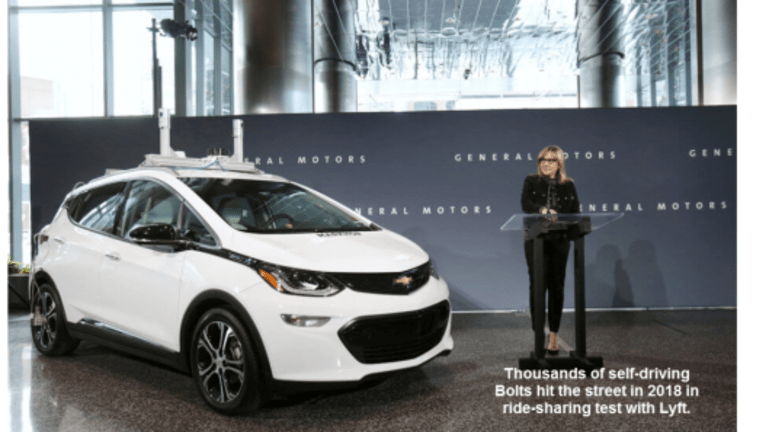 Sooner Than You Thought: GM to Build and Test Thousands of Self-Driving Bolts in 2018