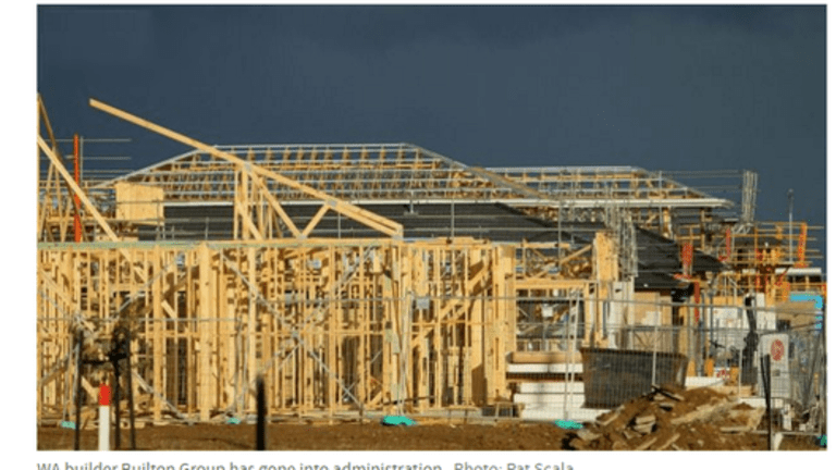 Another Australia Home Builder Goes Bust