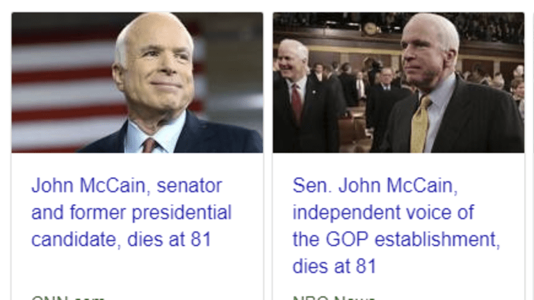 Best Way to Say Farewell to McCain: Piss on His Grave