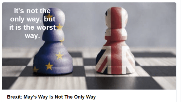 Brexit, May's Way is Worst Way: Eight Hardball Cards