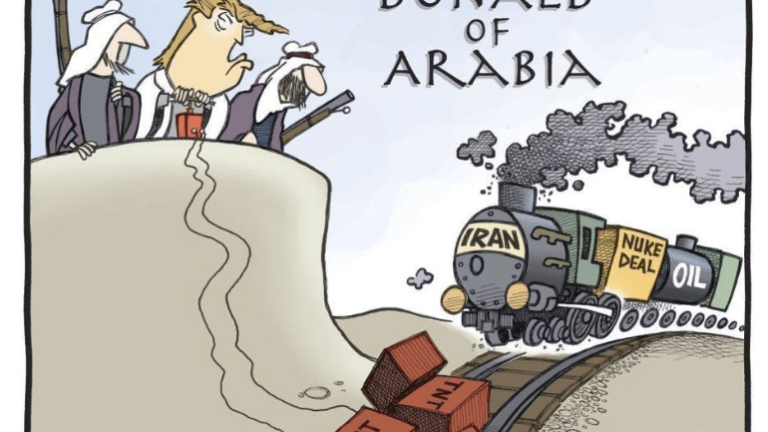 Donald of Arabia, Oil Sanction Idiocy: Another Oil Shock Coming