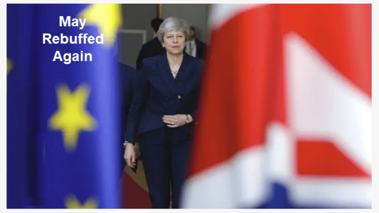 T-8 and Counting: EU Agrees to Extend Article 50 to May 22, Possibly April 11