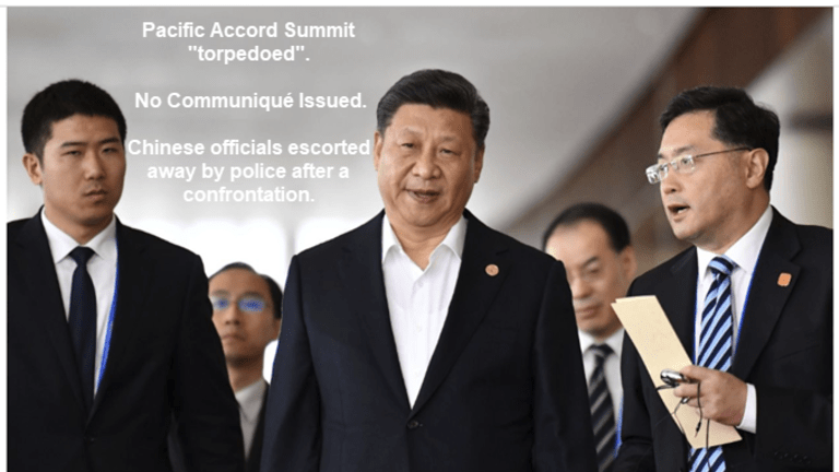 US-China Disagreement 'Torpedoes' Pacific Accord Summit, No Communiqué Issued