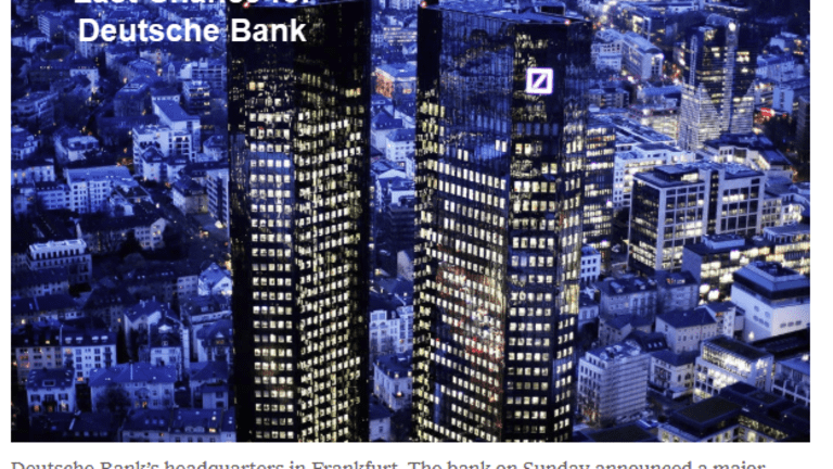Last Chance for Deutsche Bank as 18,000 Employees Face the Axe