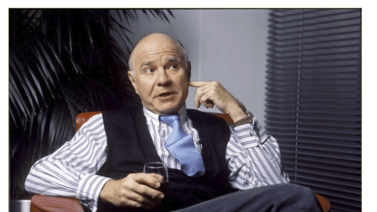 Acting Man Defends Marc Faber