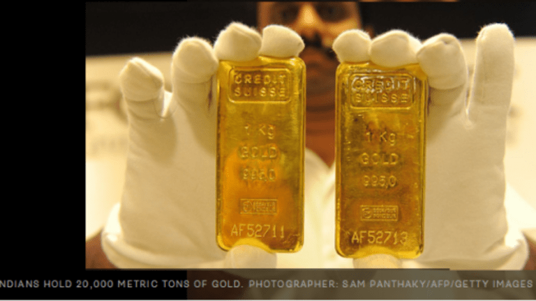 India Confiscates Gold, Even Jewelry, in Raids on Hidden Money