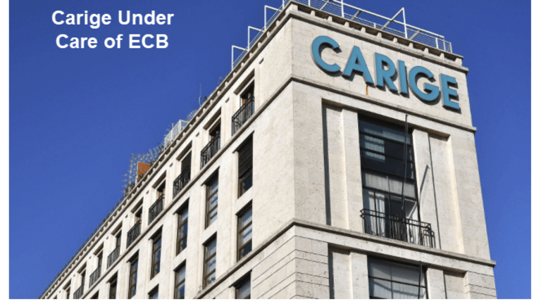 ECB Takes Over Italy's 10th Largest Bank as Italy Skids Towards Recession