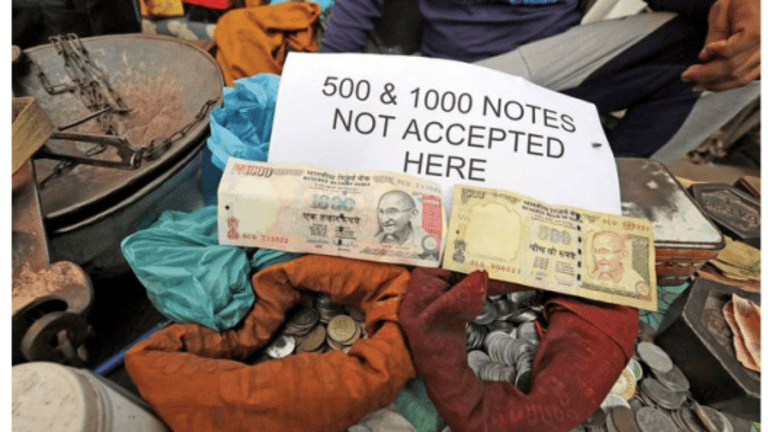 Cash Chaos in India, 86% of Money in Circulation Withdrawn; Cash Still King in Japan