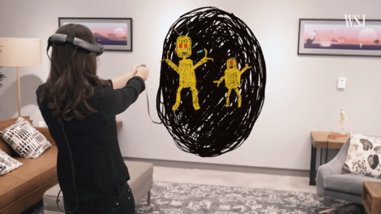 WSJ's Joanna Stern Test Drives Magic Leap's Augmented-Reality Goggles