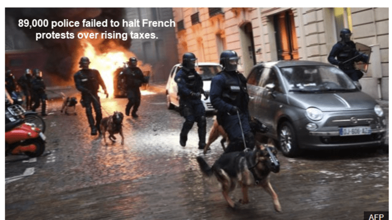 Nearly 2,000 Arrested as French Riots Escalate