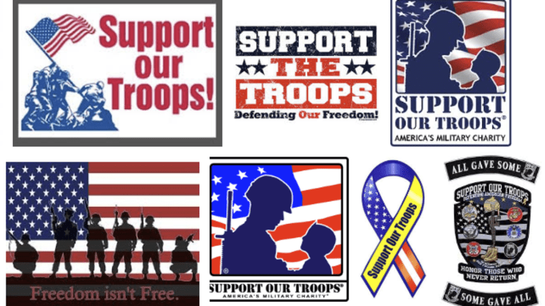 Support Our Troops: Bring Em Home