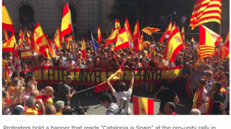 Crystal Ball Territory: Rajoy Ponders Article 155, Taking Over Catalonia