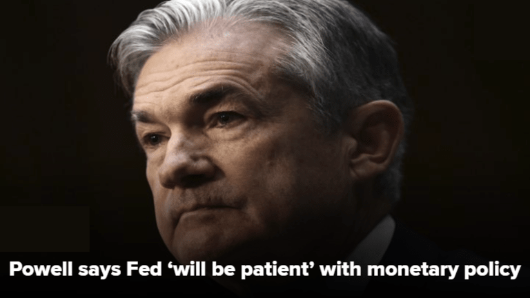 Powell Promises Patience: So What? It Doesn't Matter