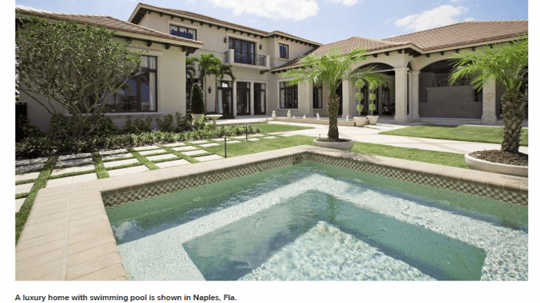 Luxury Homes Sales Decline Most Since 2010 As Supply Soars