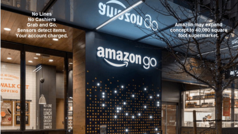 Amazon Plans Robotic Supermarket Staffed by 3; Chinese Factory Eliminate 90% of Humans, Defects Drop