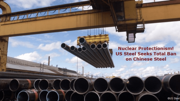 """US Seeks """"Total Ban"""" on Chinese Steel: Alarm Bells Ring Over """"Nuclear"""" Option"""