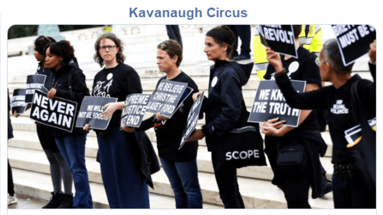 Kavanaugh Political Circus Will Damage the #MeToo Movement