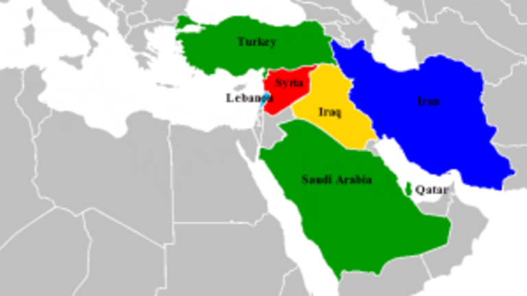 McCain Proposes Military Aid to Al Qaeda; Mideast Map of Who Supports Who