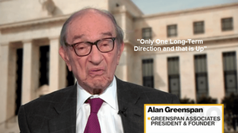 """Greenspan Foresees 5% Interest Rates: """"Only One Long-Term Direction and That is Up"""""""