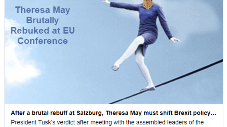 No Deal Brexit Odds Rise: UK Thoroughly Rebuked at EU Conference in Salzburg