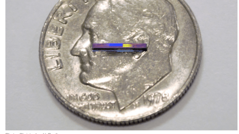 New Lidar Chips for Self-Driving Vehicles are Smaller Than a Dime, Cost $10 to Manufacture
