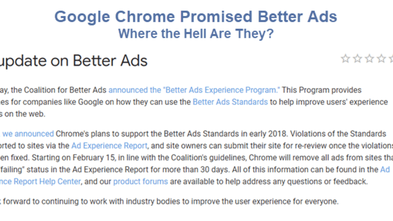 Hello Google Chrome: What the Hell Happened to Autoplay Ad Blocks?