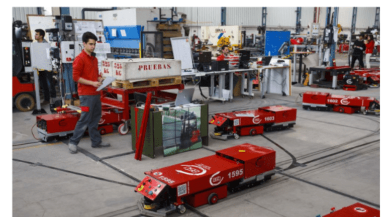 Autonomous Future: Disruptive Forklifts, AGVs, and Battery Swapping Devices for Cars
