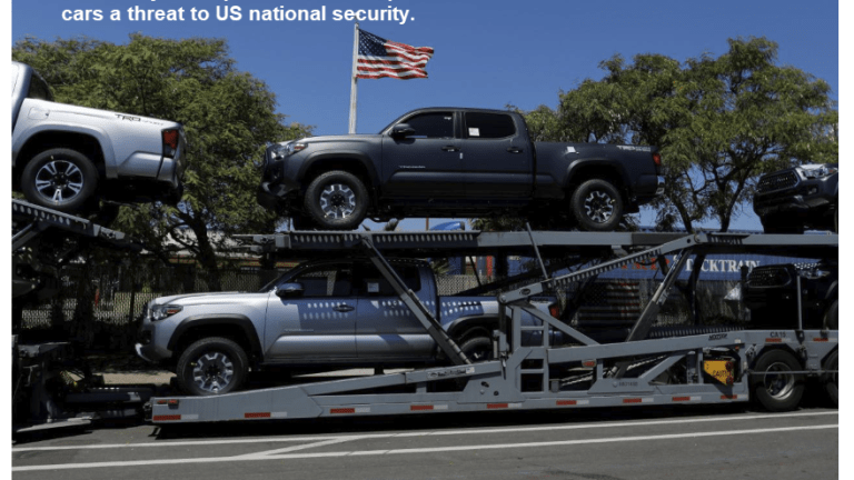 """Commerce Study Deems """"European Cars a Threat to US National Security"""""""