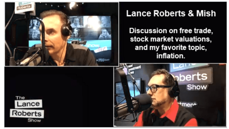 Fun Interview with Lance Roberts on Serious Topics: Trade, Inflation