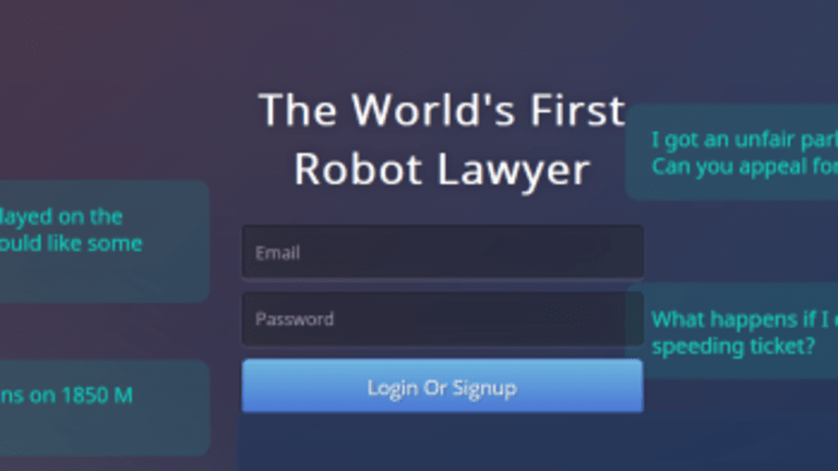 Robot Lawyer Successfully Appeals 160,000 London and New York Parking Tickets