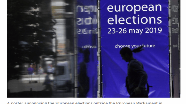 EU Parliament Election Recriminations Before Votes Even Counted. Totals Tonight.