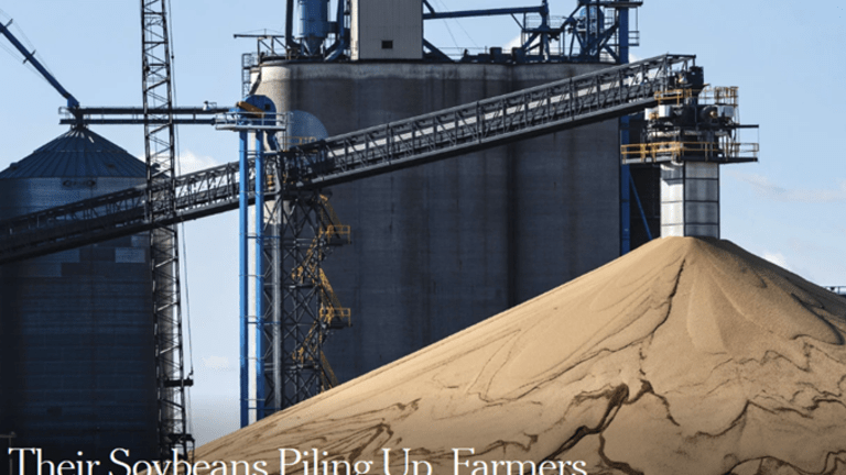 Soybeans Pile Up, So Do Worries of Bean Rot