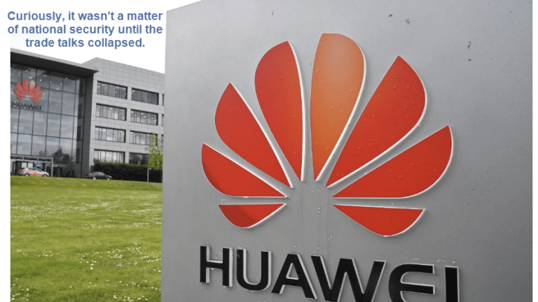 Trump Issues Executive Order Banning Chinese 5G Leader Huawei's Technology
