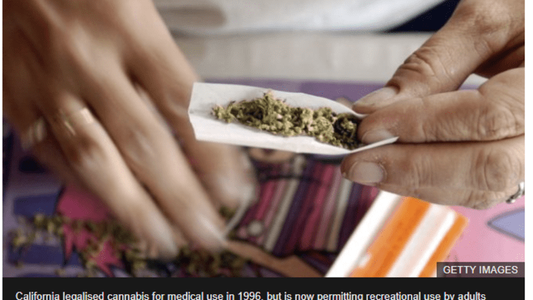 Legal, Recreational-Use Pot Goes on Sale in California Today